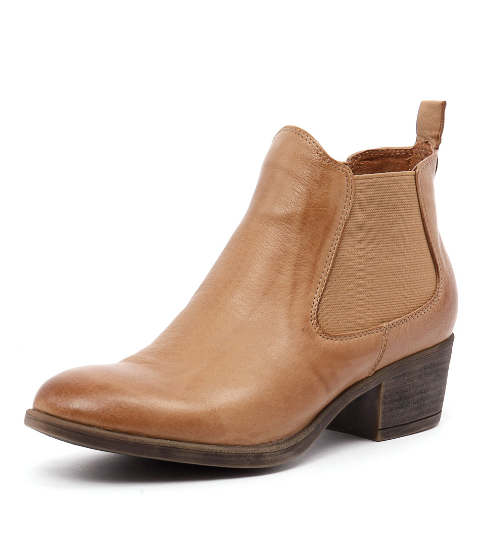 I Love Billy Amona Tan Leather Boots online