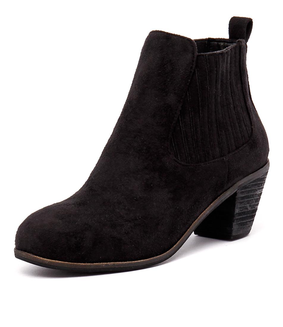 I Love Billy Riptide Black-Black Boots