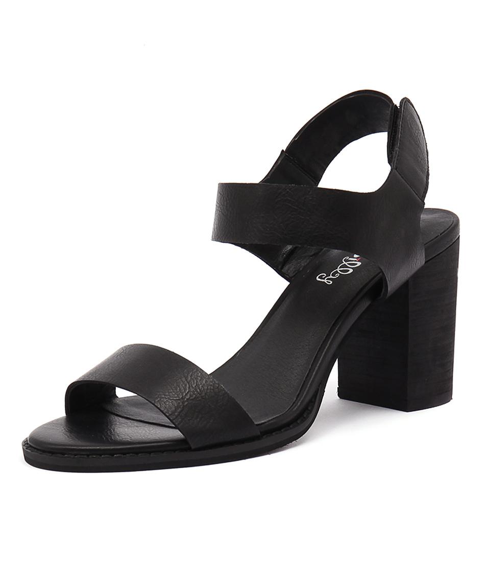 I Love Billy Dezzy Black Sandals
