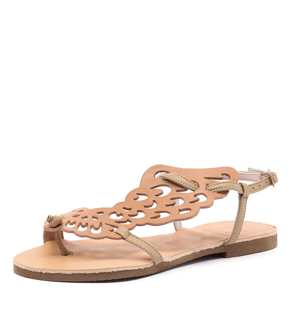 I Love Billy Greece Kairos All Natural Leather Sandals