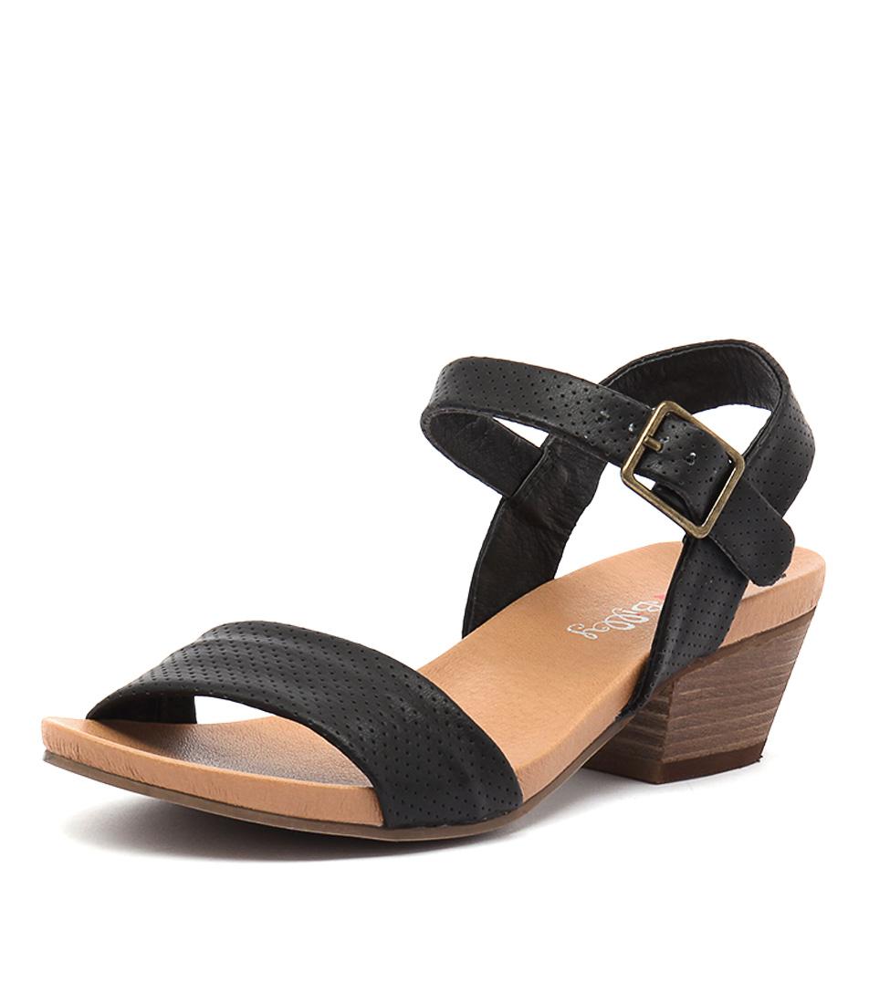 I Love Billy Calla Black Sandals online