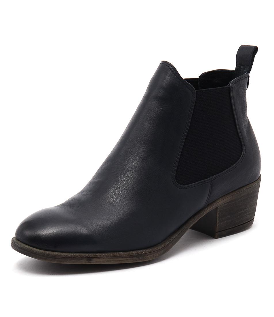 I Love Billy Amona Navy Boots