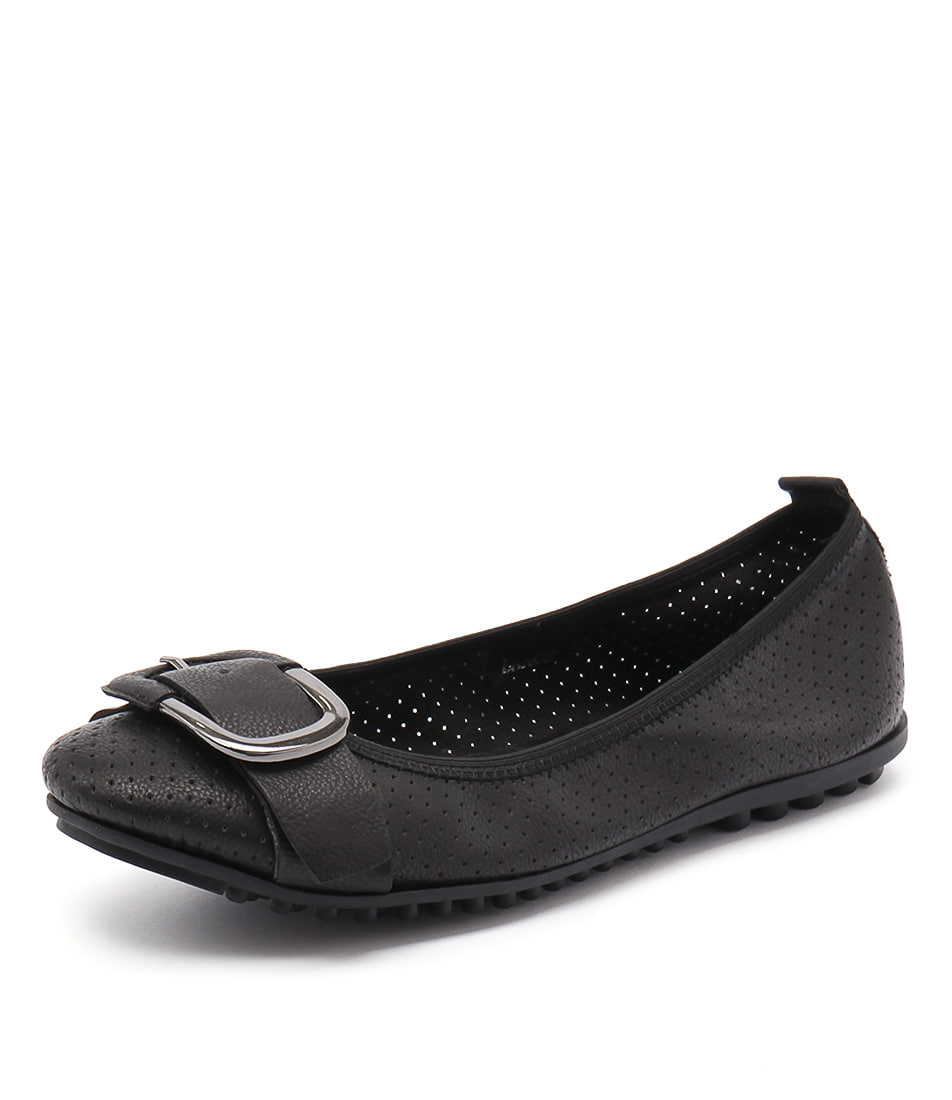 I Love Billy Bance Black Flats