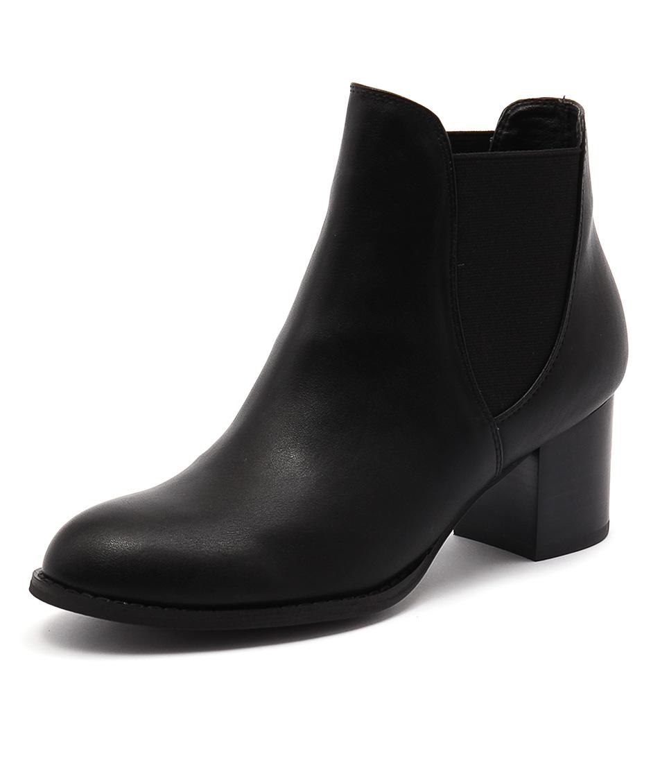 I Love Billy Janice Black Boots
