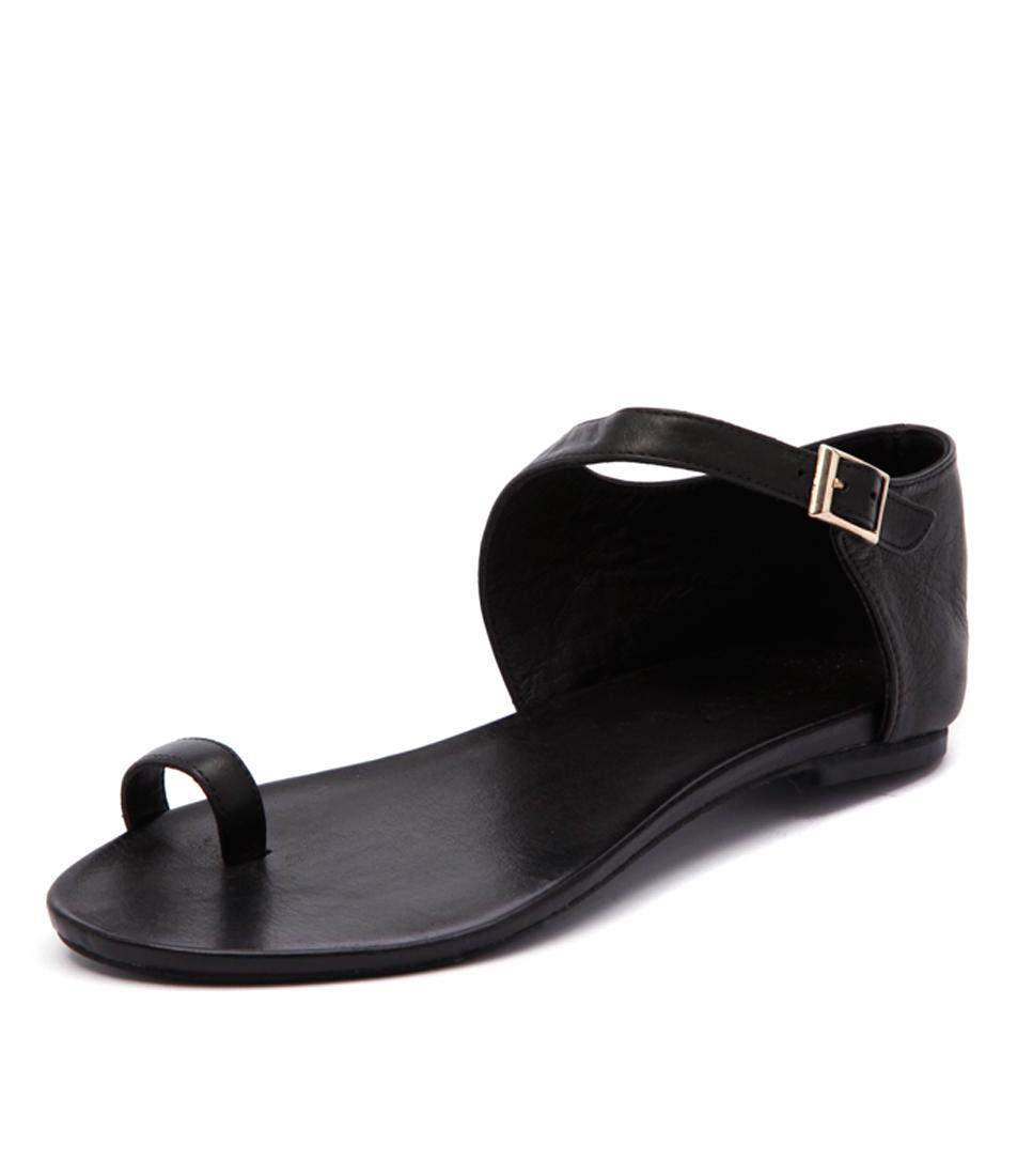 Inuovo Hespera Black Sandals