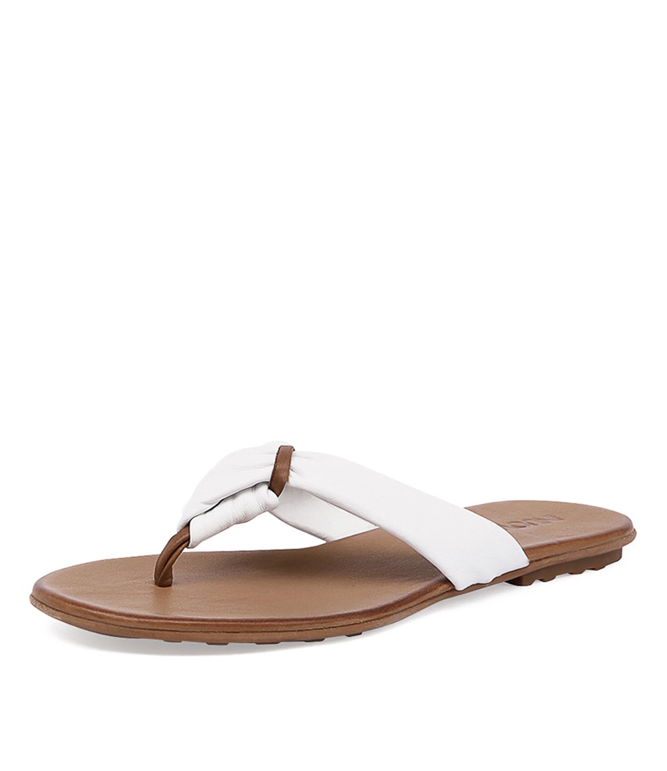 Inuovo Sandy White Sandals
