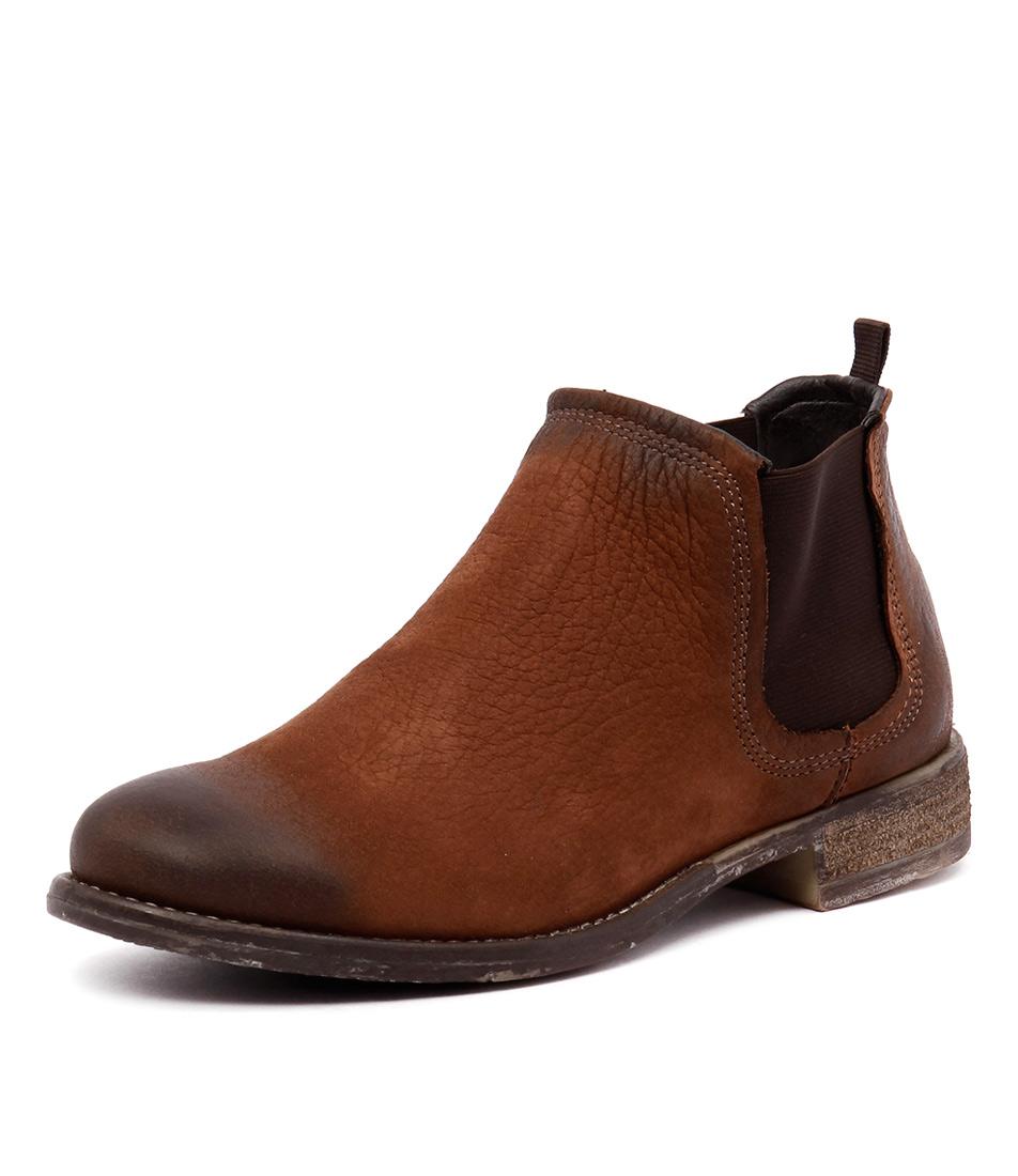 Josef Seibel Sienna 05 Castagne Boots