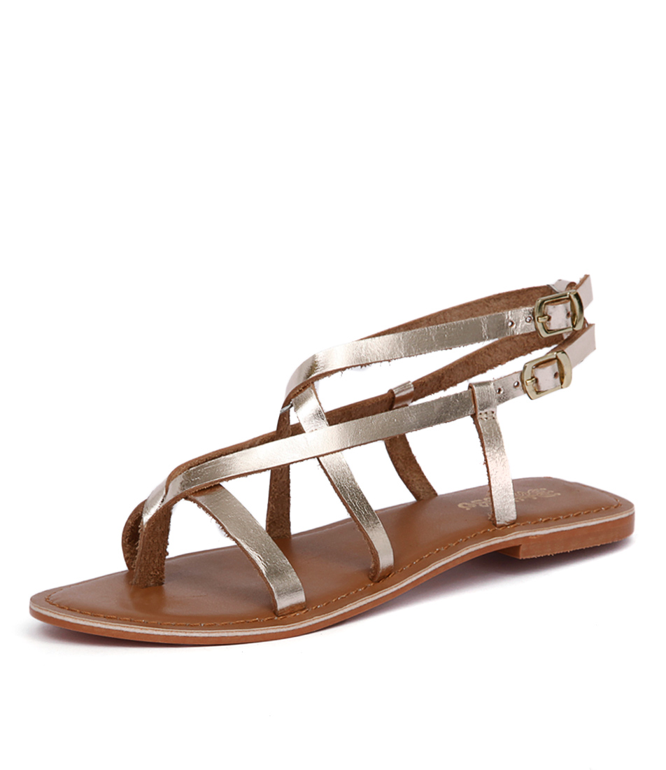Just Because Latina Soft Gold Sandals