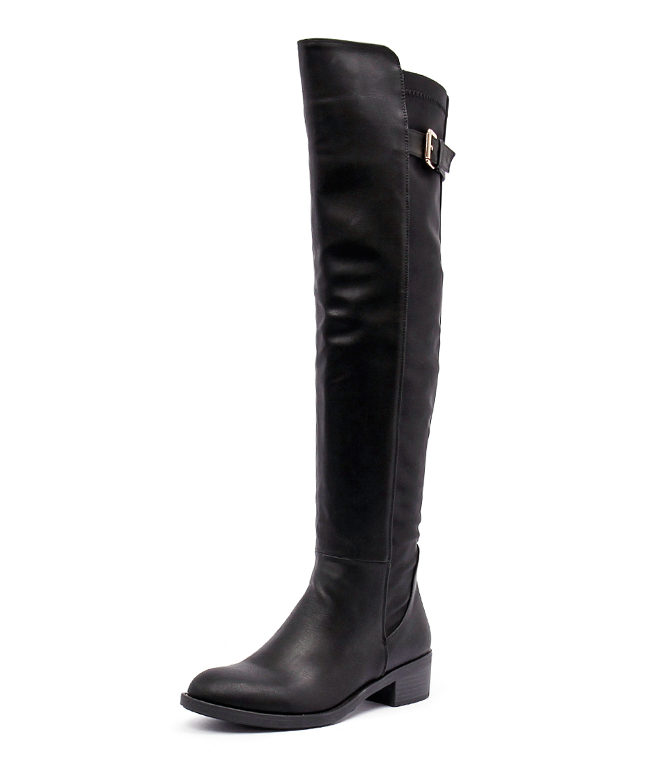 Ko Fashion Irving Black Boots online