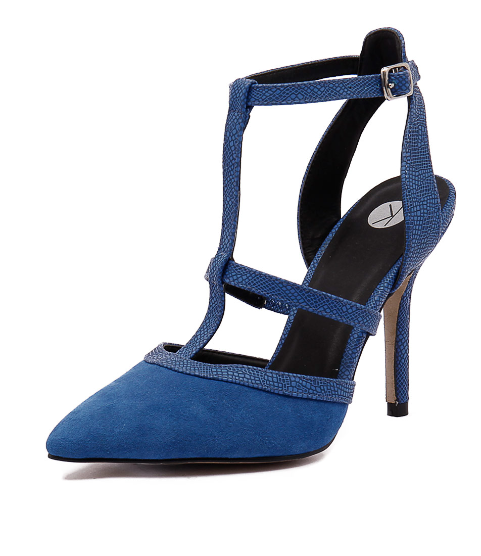 Ko Fashion Grove Cobalt Shoes