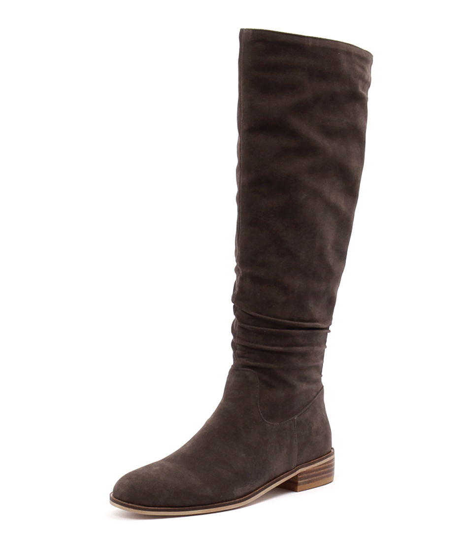 Ko Fashion Pratt Taupe Micro Suede Boots online