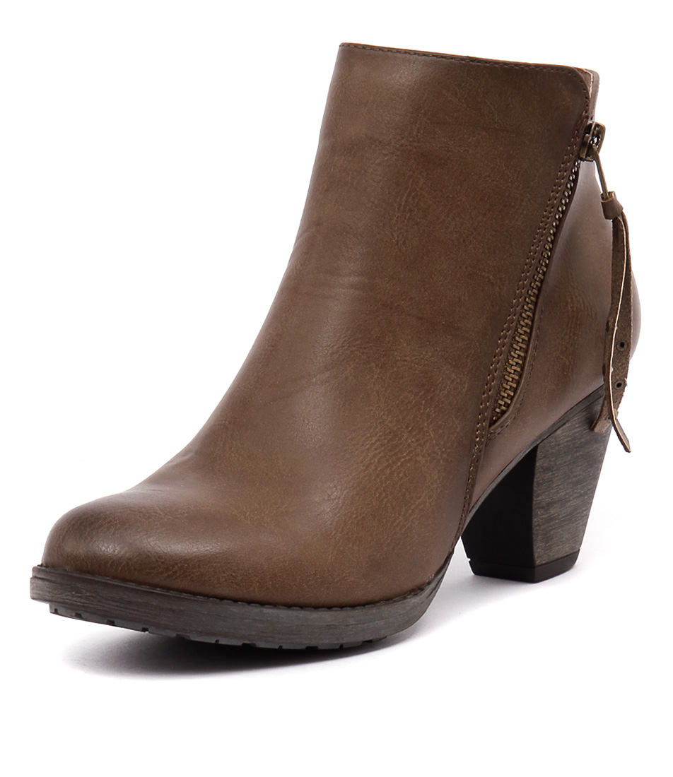 Ko Fashion Kally Taupe Boots