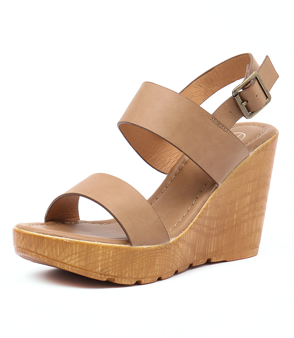 Ko Fashion Sachi Camel-Tan Sandals