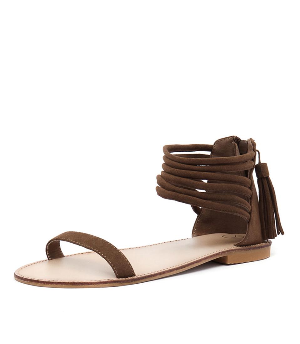 Ko Fashion Lennox Tan Sandals