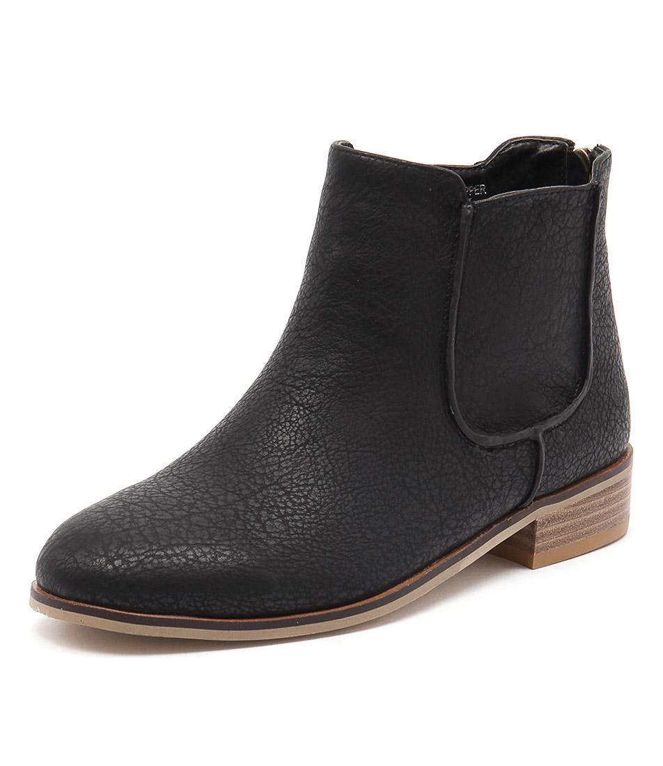Ko Fashion Beduf Black Boots online