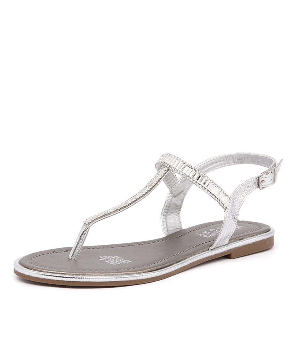 Laguna Quays Abbey Silver Sandals