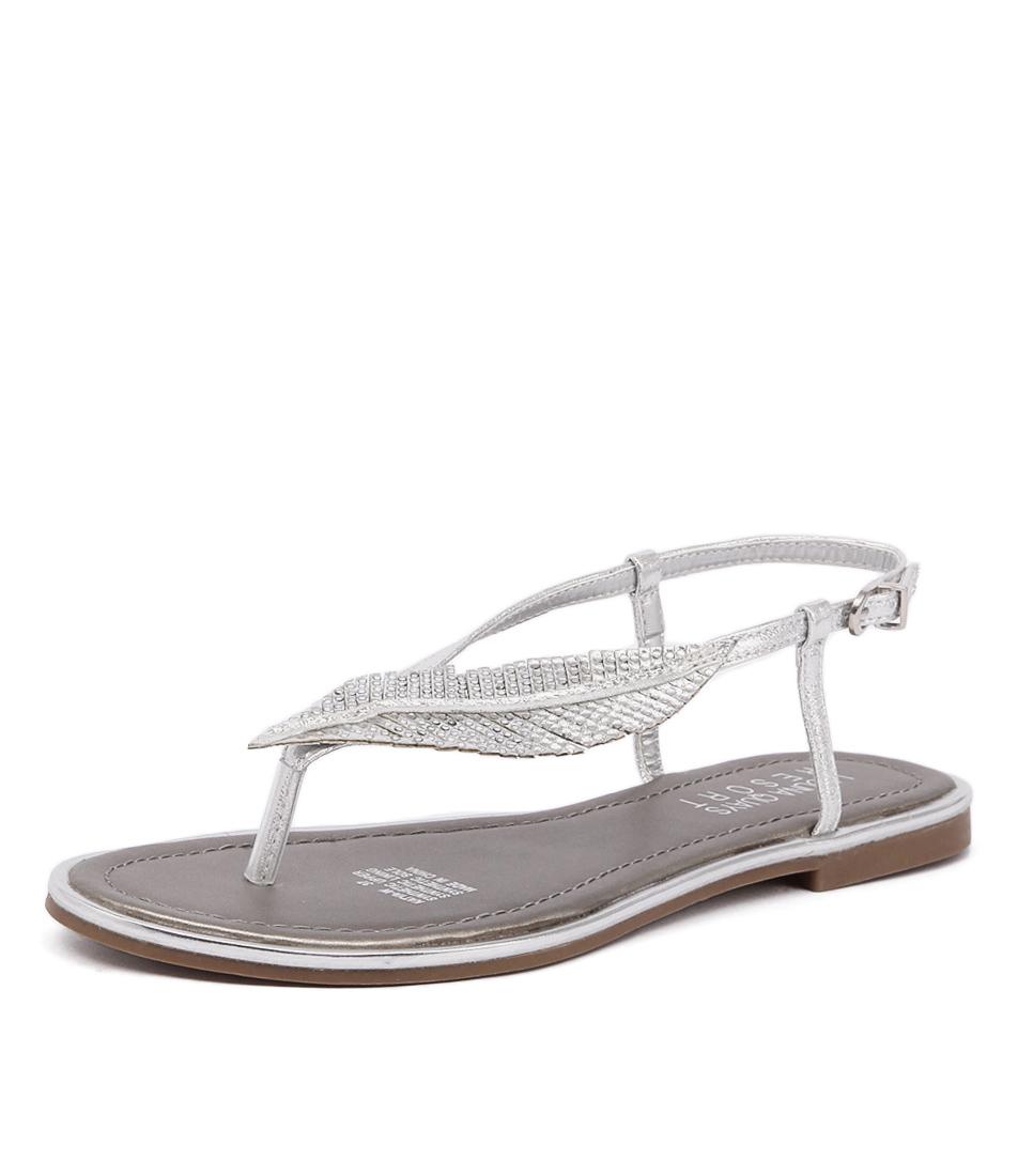 Laguna Quays Katya Silver Sandals online