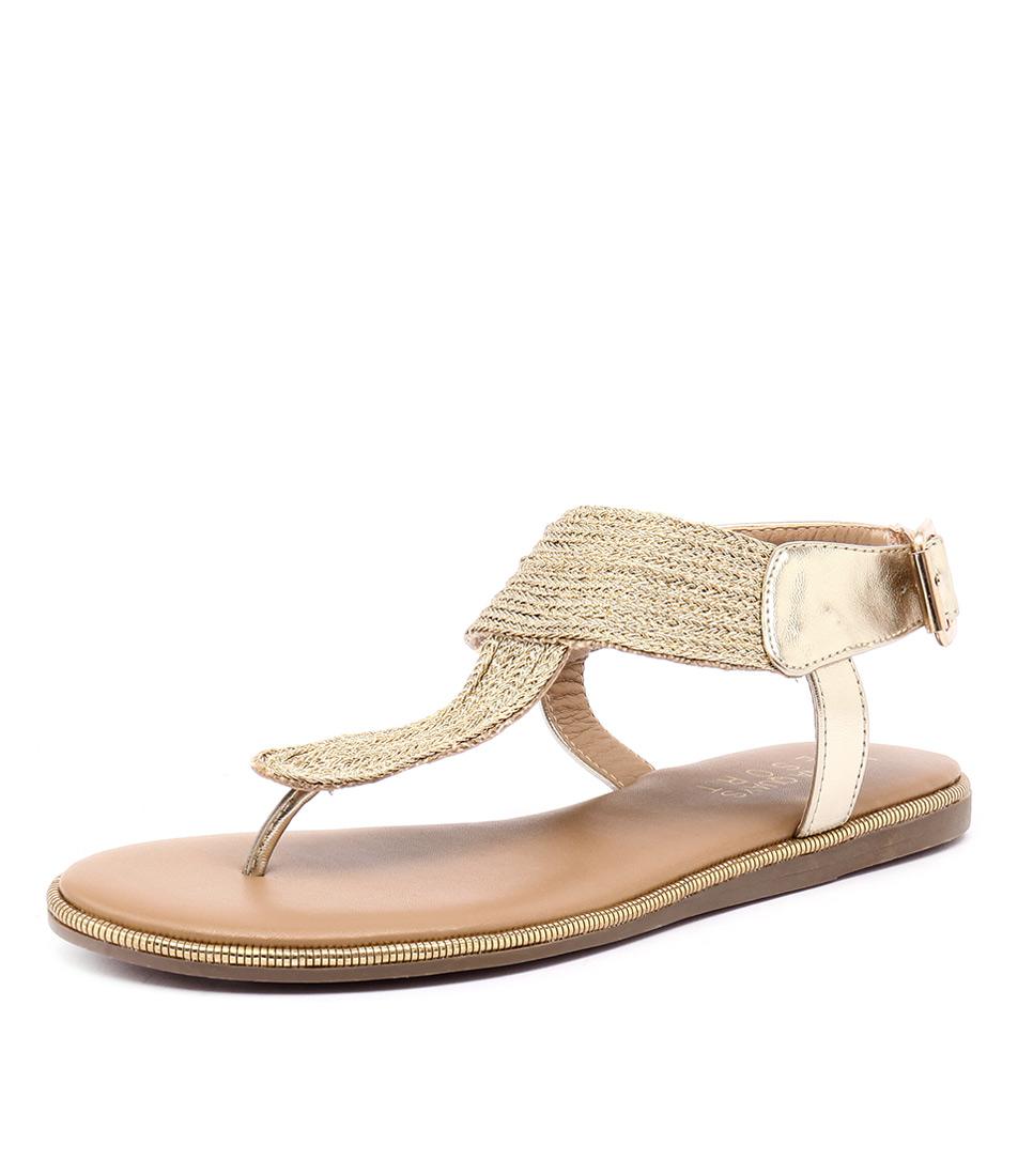 Laguna Quays Tilly Gold Sandals