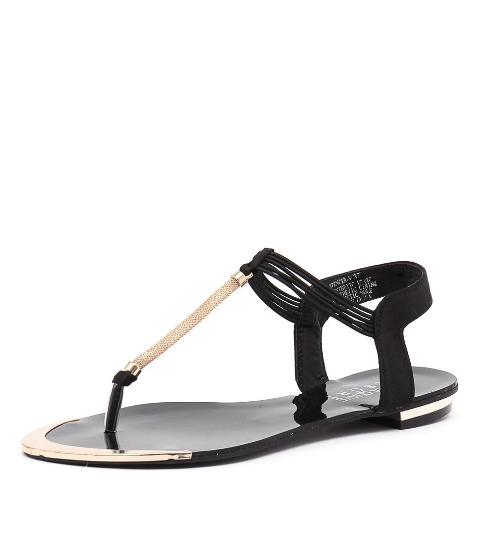 Laguna Quays Spencer Black Sandals