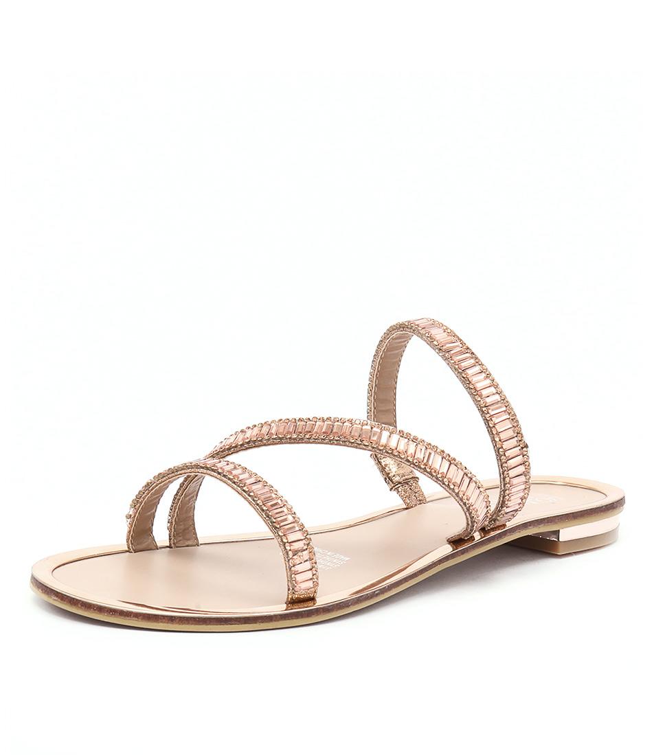 Laguna Quays Jamey Rose Gold Sandals