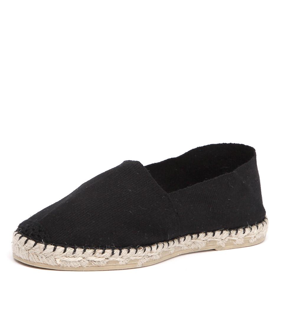 La Maison de L'Espadrille 410 Black Shoes