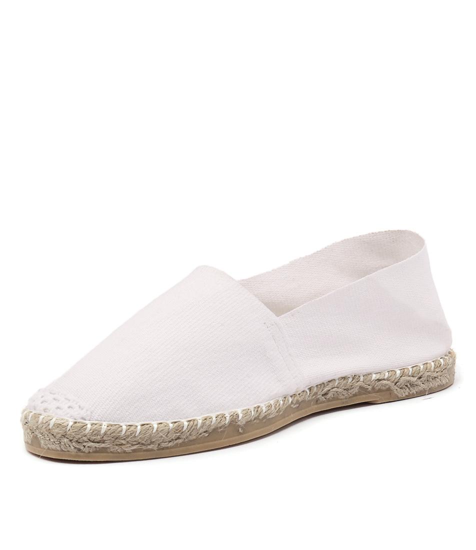 La Maison de L'Espadrille 410 White Shoes
