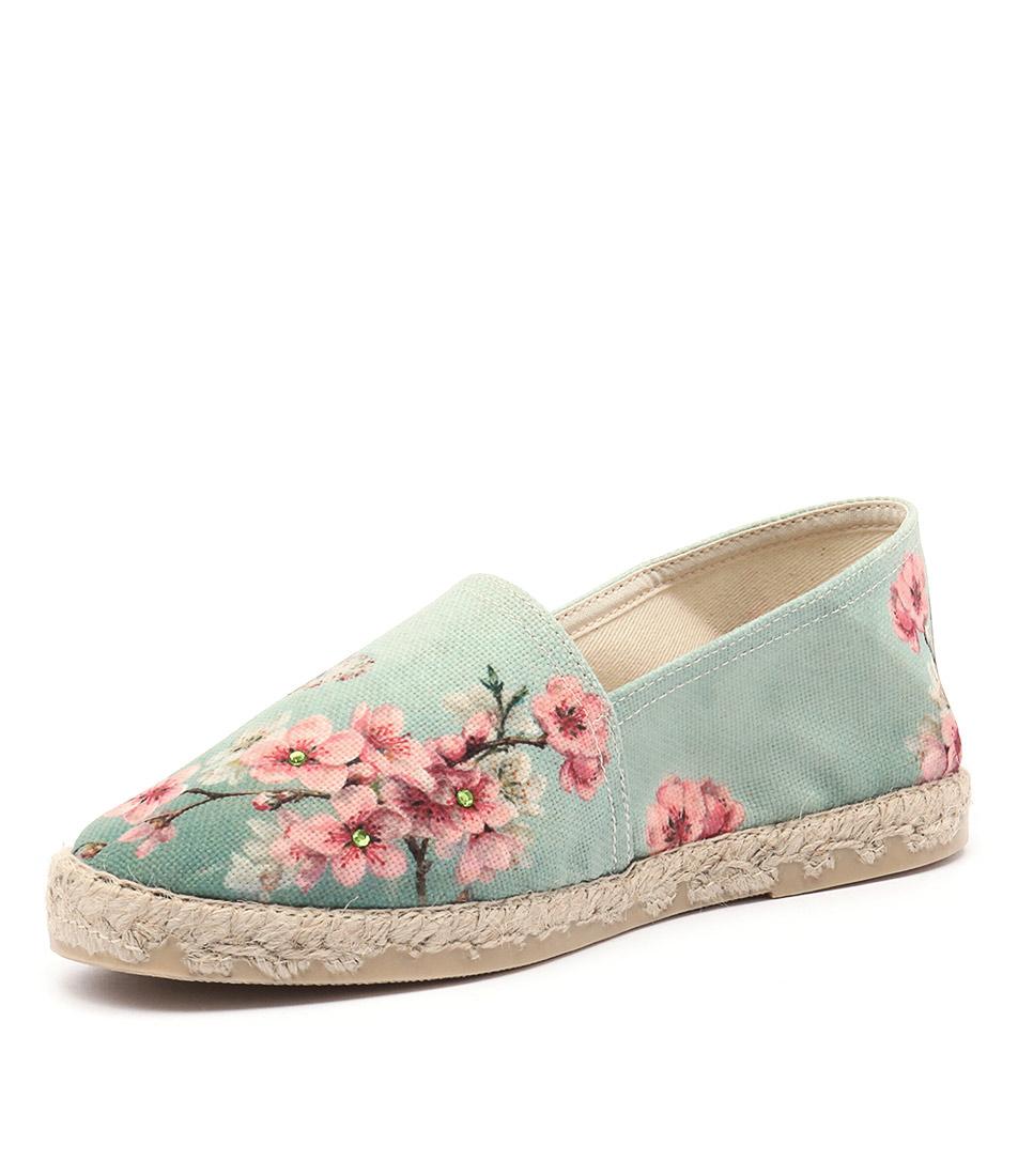 La Maison de L'Espadrille 329-21 Floral Shoes