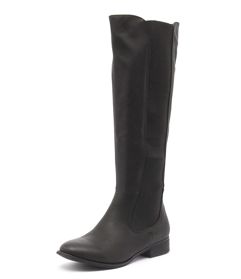 Lavish Treasure Black Boots