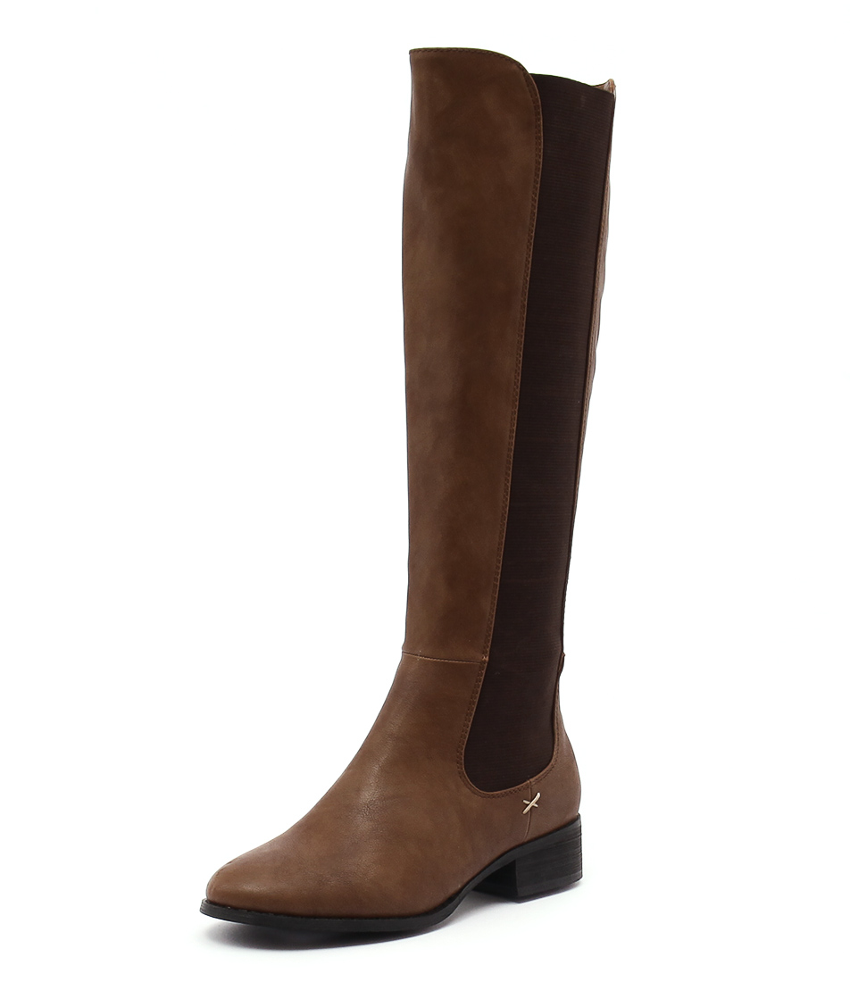 Lavish Treasure Tan Boots