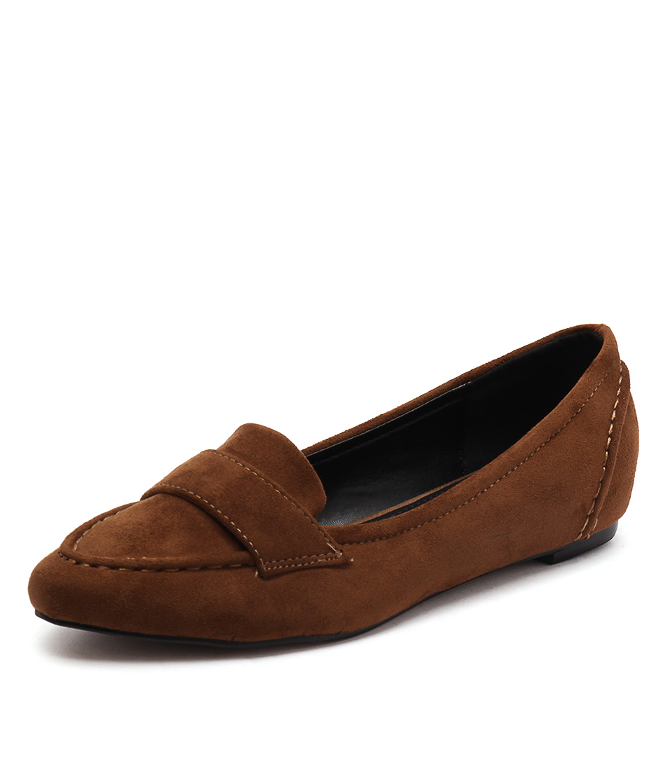 Lavish Cheri Cognac Loafers