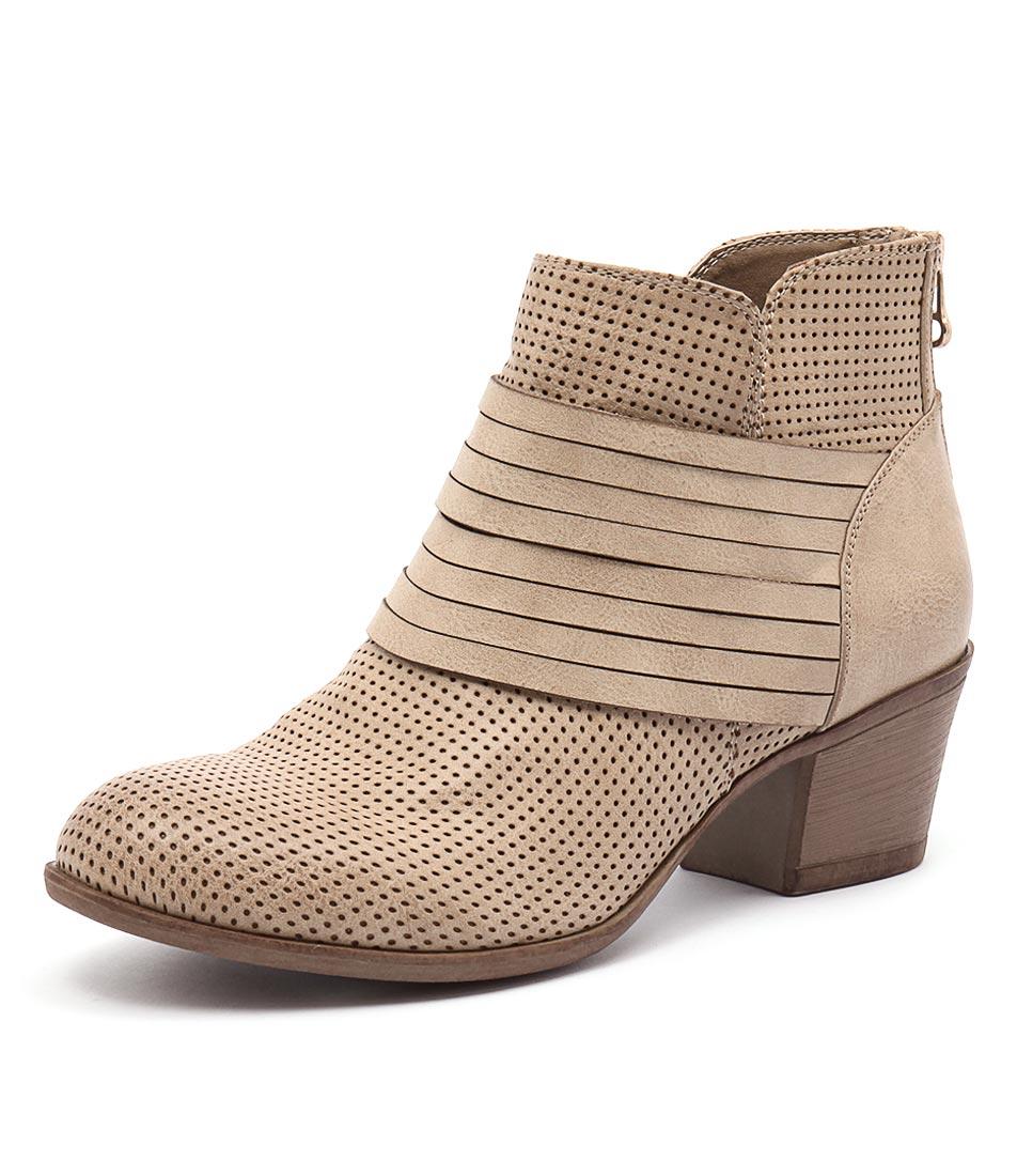 Lavish Lasso Taupe Boots