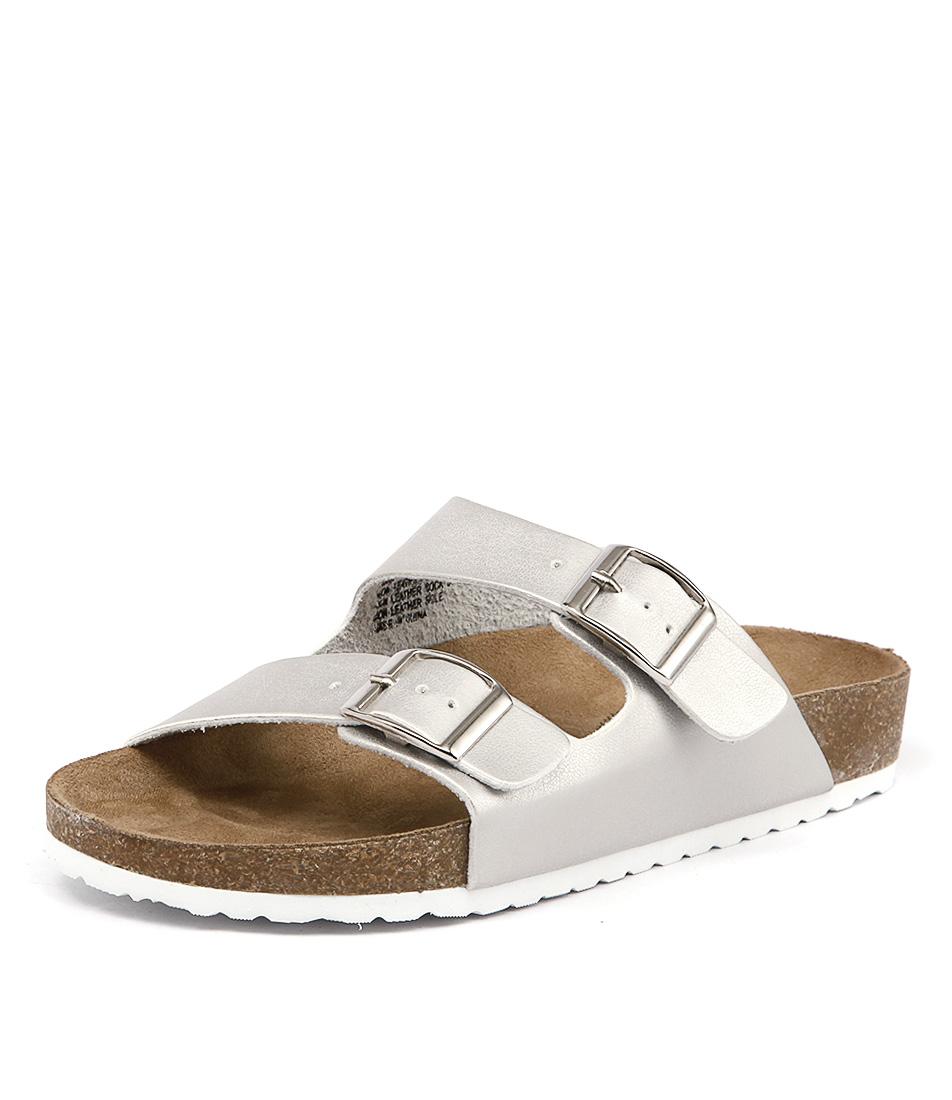 Lipstik Toffee Silver Sandals online