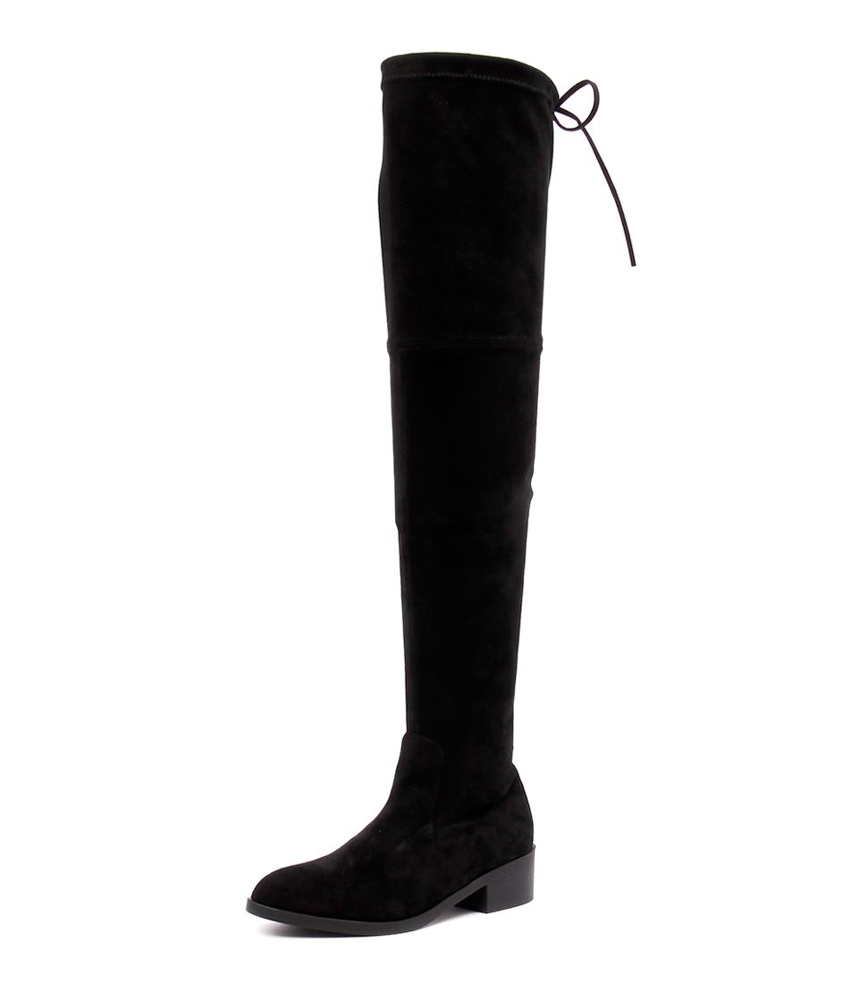 Lipstik Magda Black Micro Boots