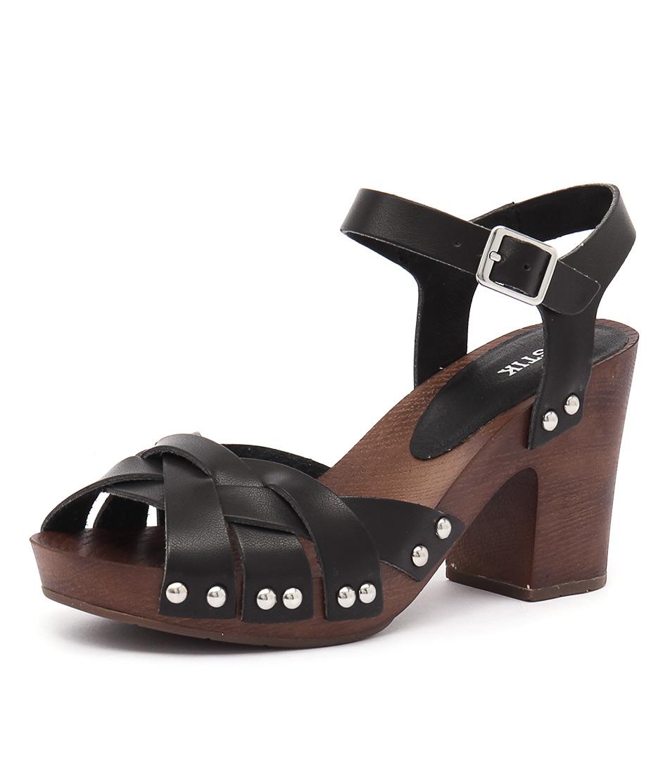 Lipstik Edina Black Sandals