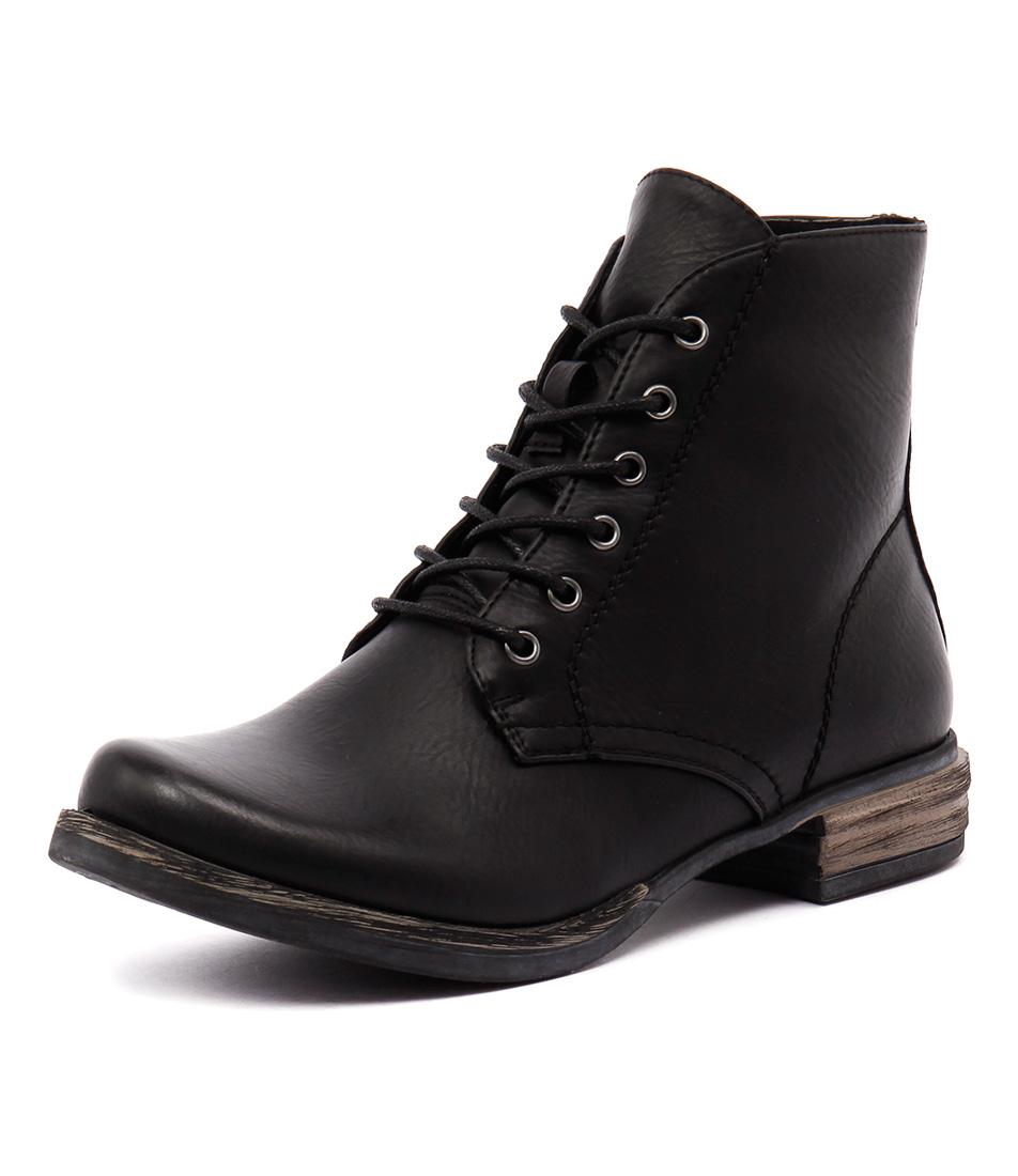 Los Cabos Corsa Black Boots