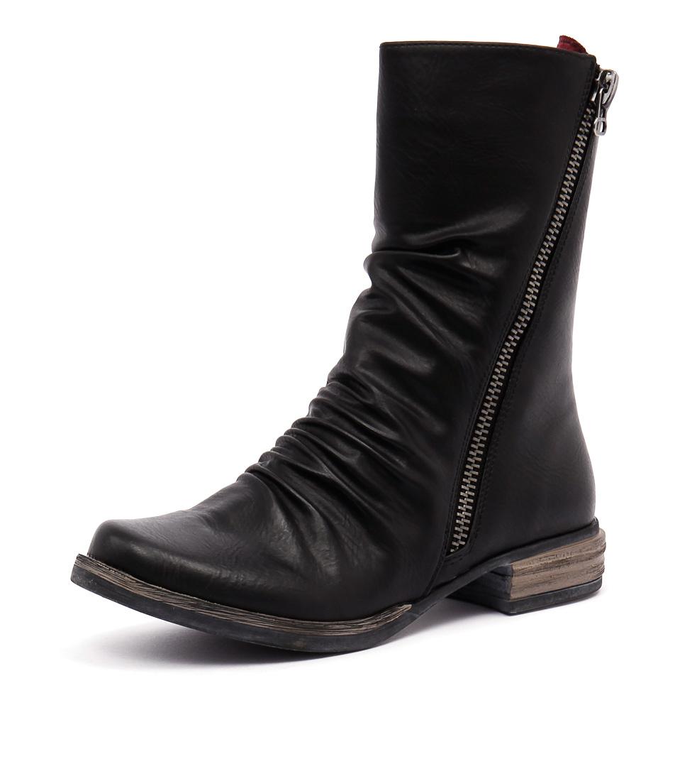 Los Cabos Corsica Black Boots
