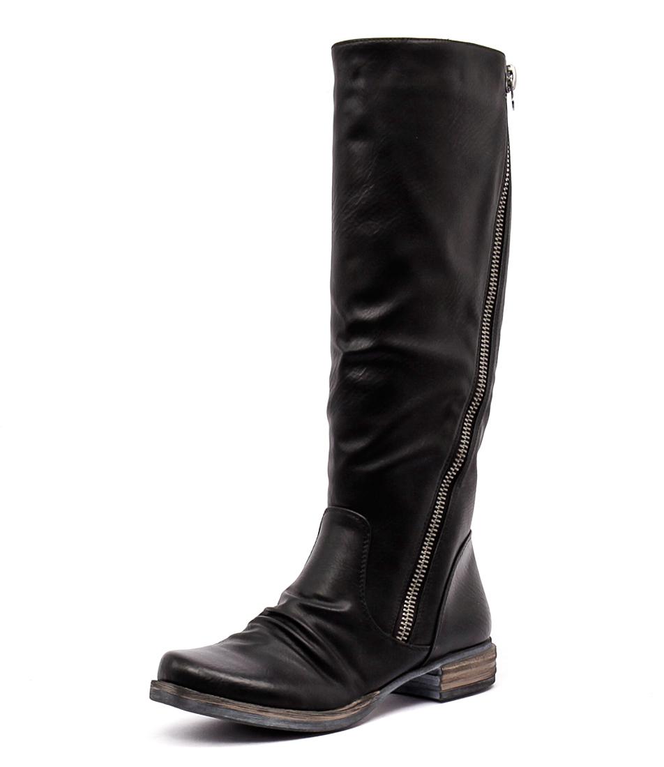 Los Cabos Corsina Black Boots