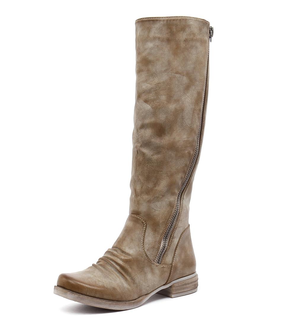 Los Cabos Corsina Beige Boots