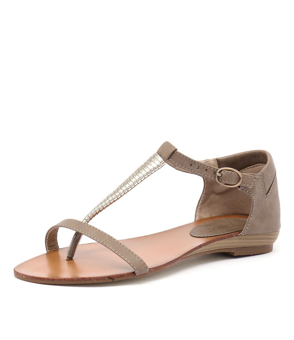 Los Cabos Cila Taupe Sandals