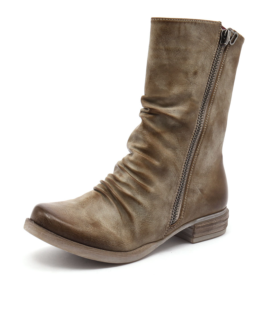 Los Cabos Corsica Taupe Boots