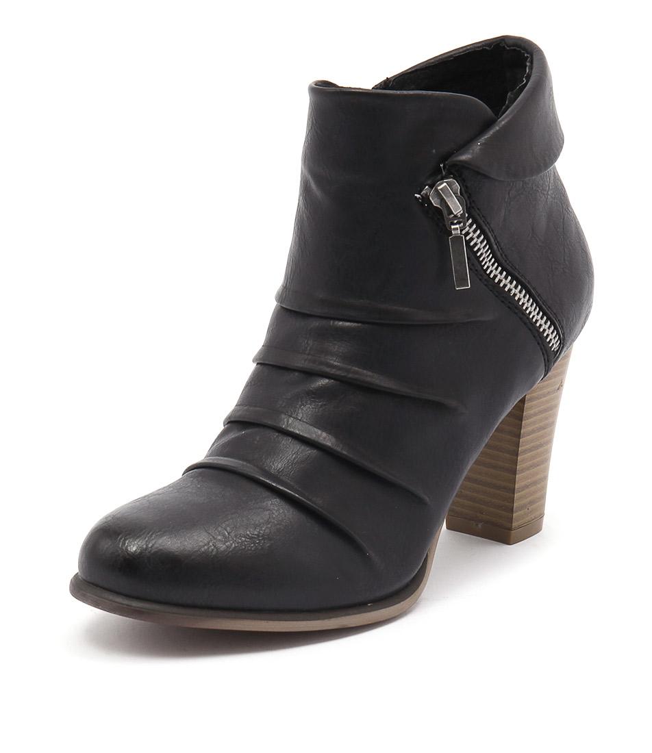 Los Cabos Delia Black Boots
