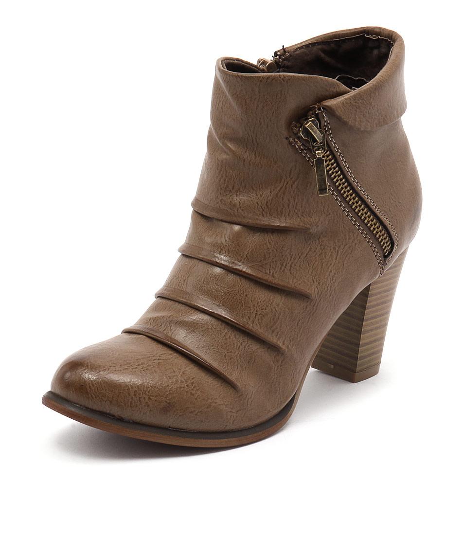 Los Cabos Delia Taupe Boots