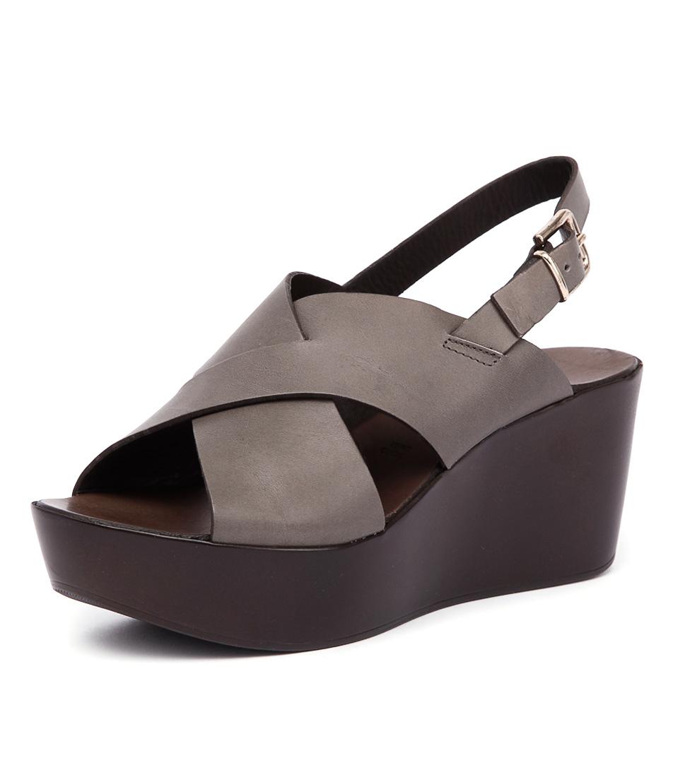 Maria Rossi Violetta Grey Sandals