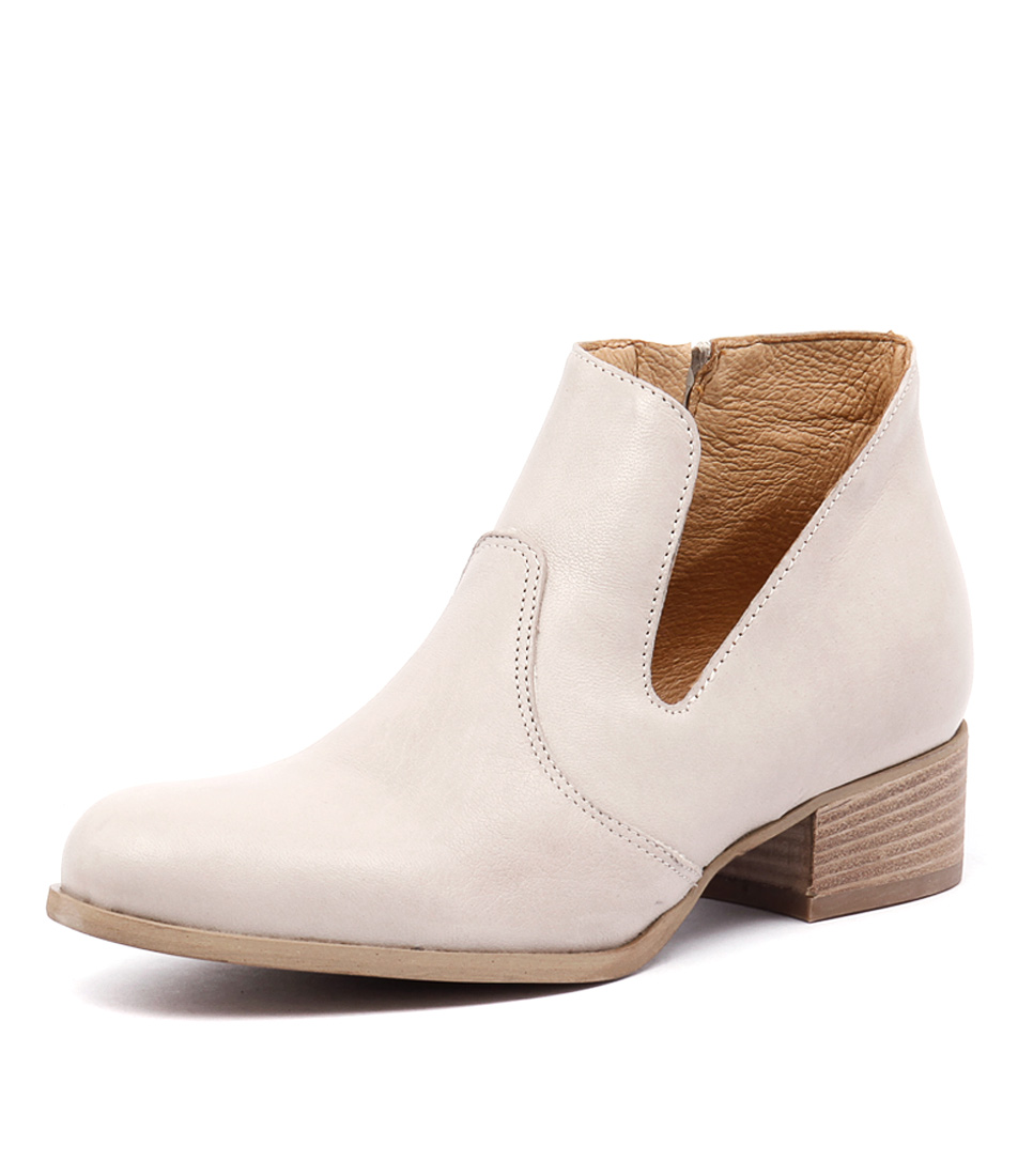 Maria Rossi Ginger Latte Leather Boots