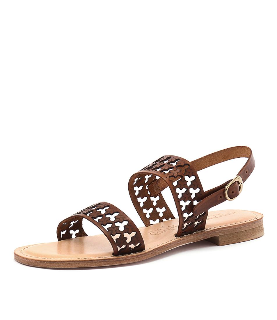 Maria Rossi Eden Tan Sandals online