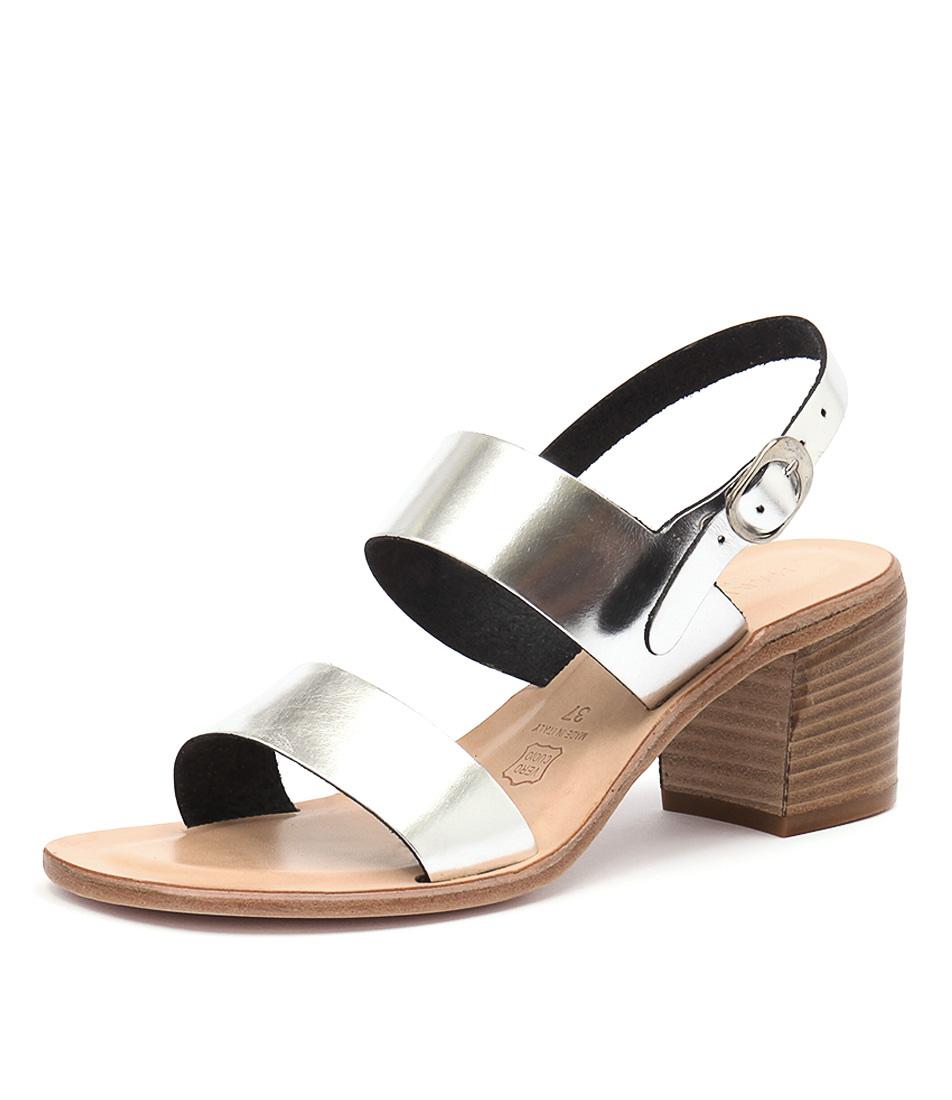 Maria Rossi Ellie Silver Sandals
