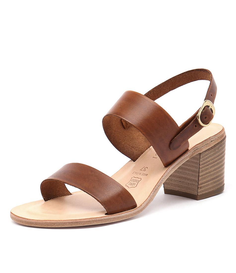 Maria Rossi Ellie Vacch Tan Sandals