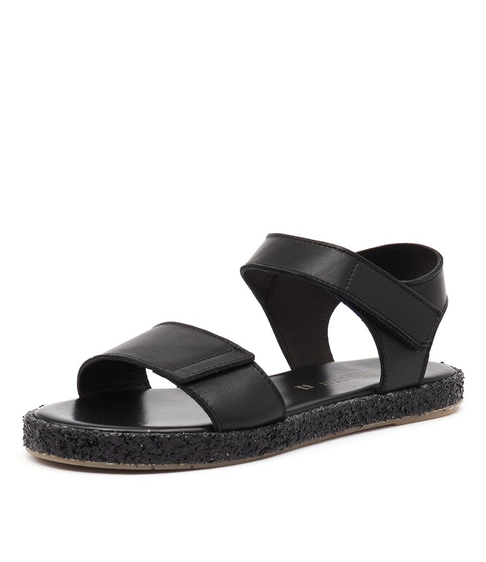 Maria Rossi Valencia Nero Sandals