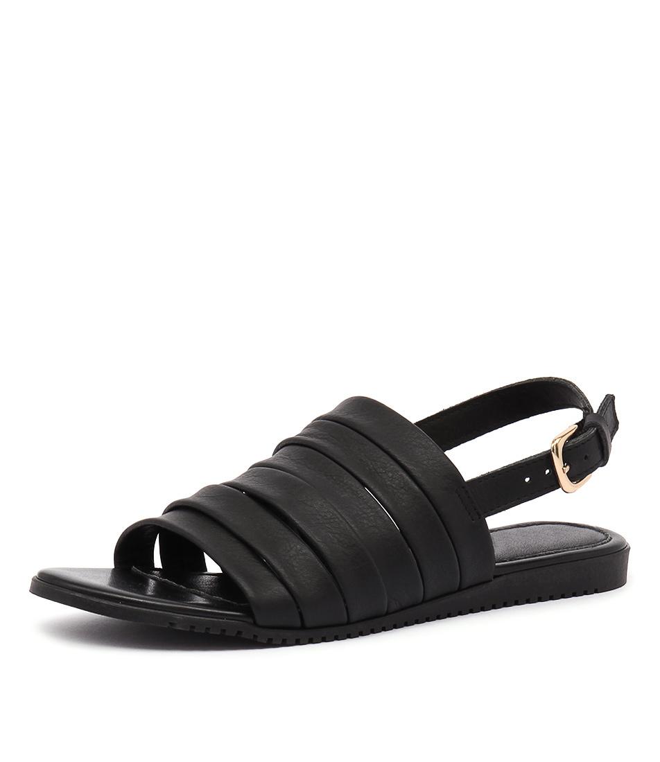 Maria Rossi Valonia Nero Sandals