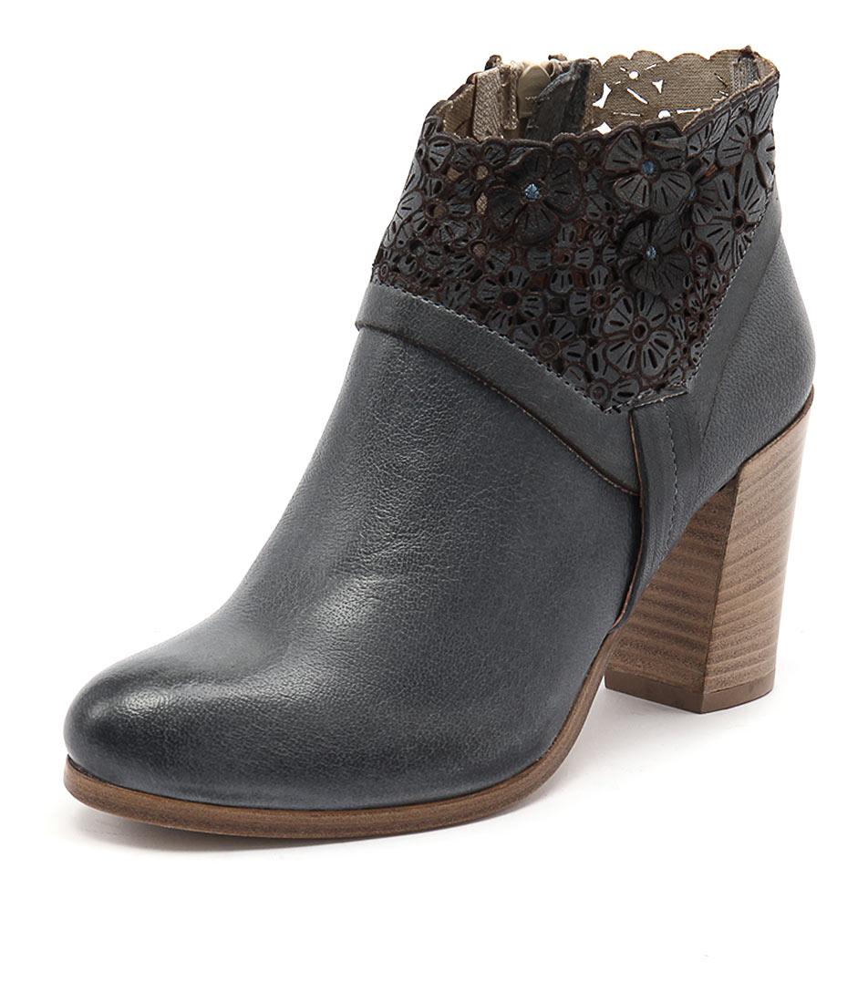 Maria Rossi Sebastiana Blue Boots